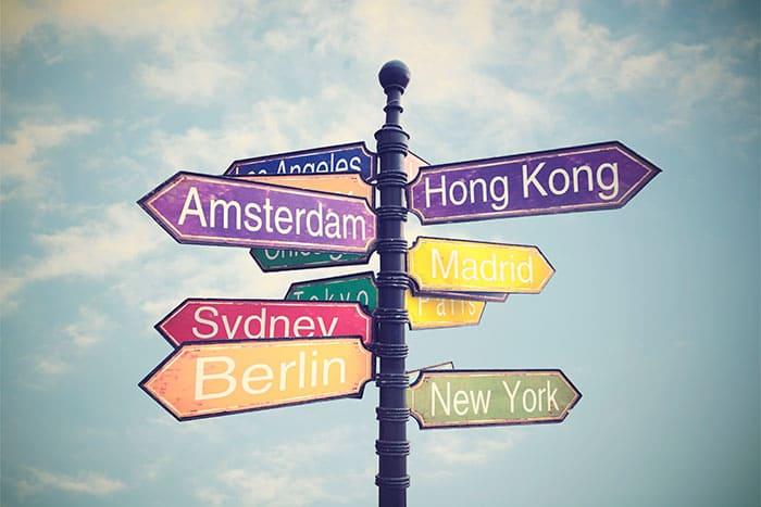 Reisedokumente beisammen - Checkliste