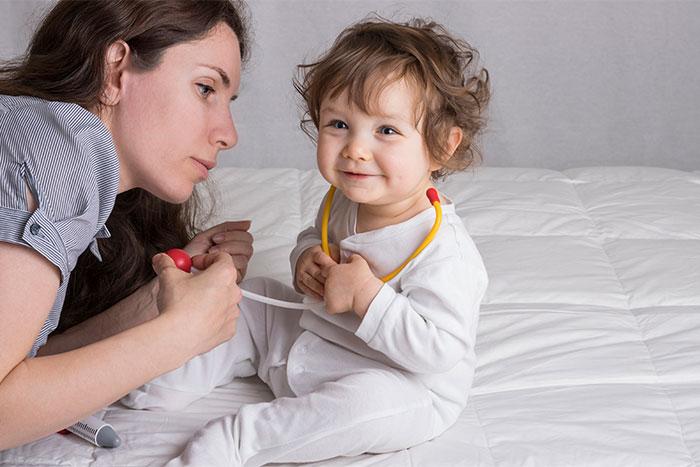 Hämophilie A bei Kinder