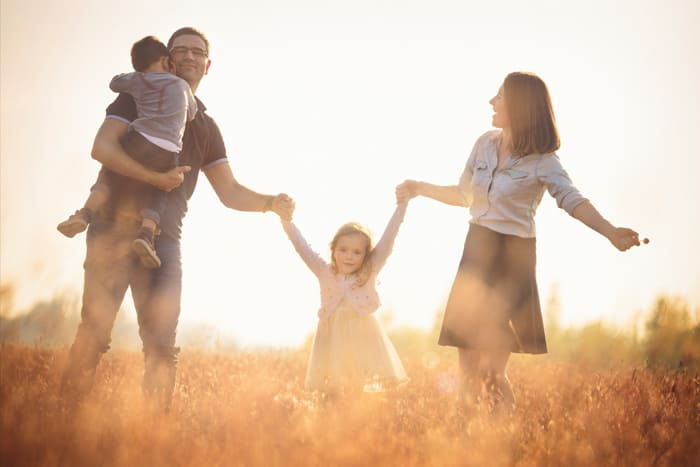 Familie auf Active A Blog