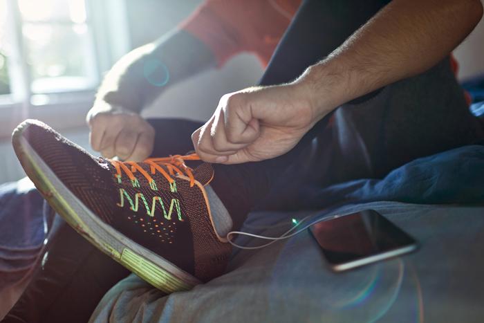 Gutes Schuhwerk und Hämophilie A